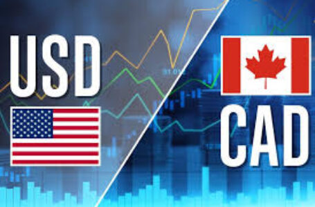 The USD/CAD is under pressure